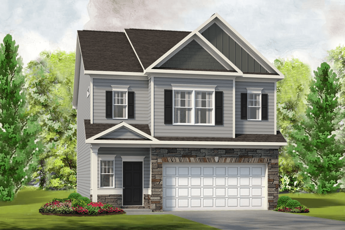 Exterior featured in The Braselton By Smith Douglas Homes in Nashville, TN