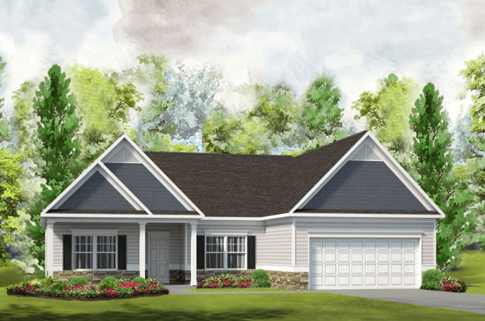 Exterior featured in The Vinings By Smith Douglas Homes in Goldsboro, NC