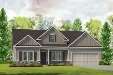 Exterior featured in The Avery By Smith Douglas Homes in Nashville, TN