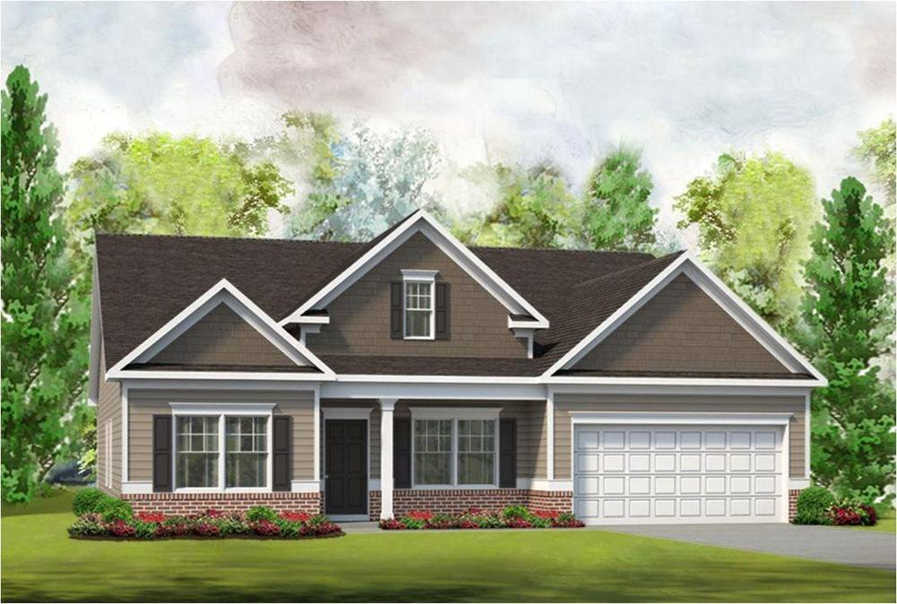 The Avery Home Plan By Smith Douglas Homes In Mckeesport