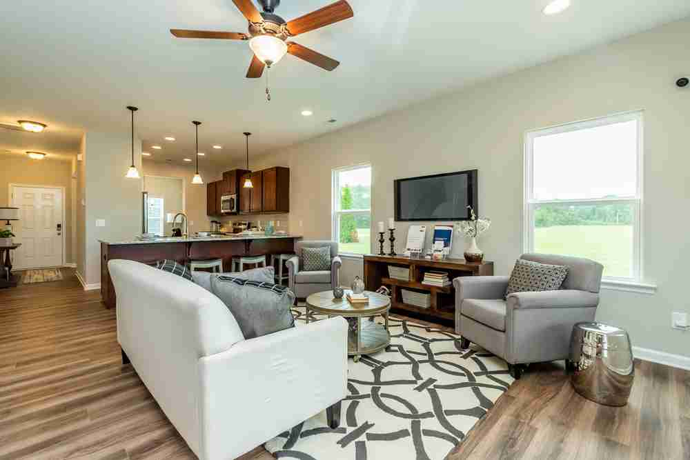 Timberline Oaks Living Area