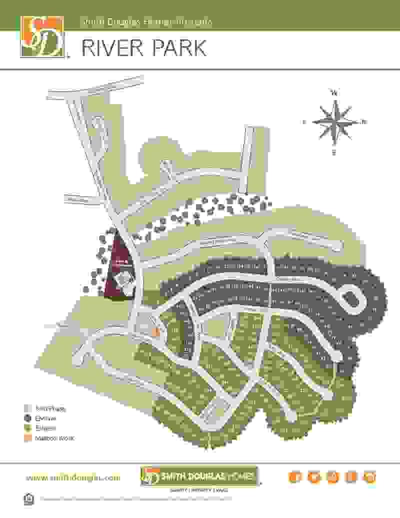 River Park Site Map