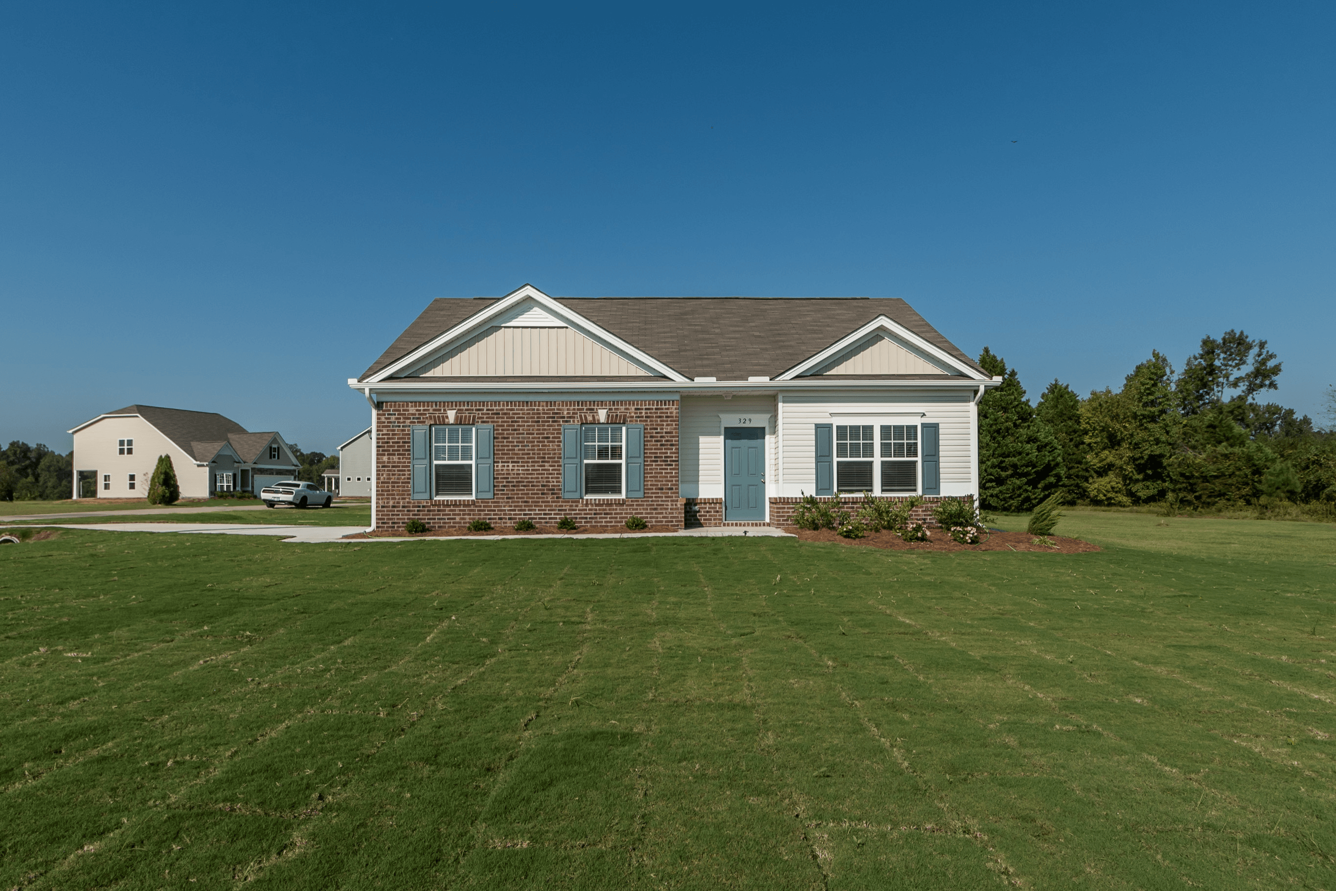 Exterior featured in The Foxcroft By Smith Douglas Homes in Goldsboro, NC