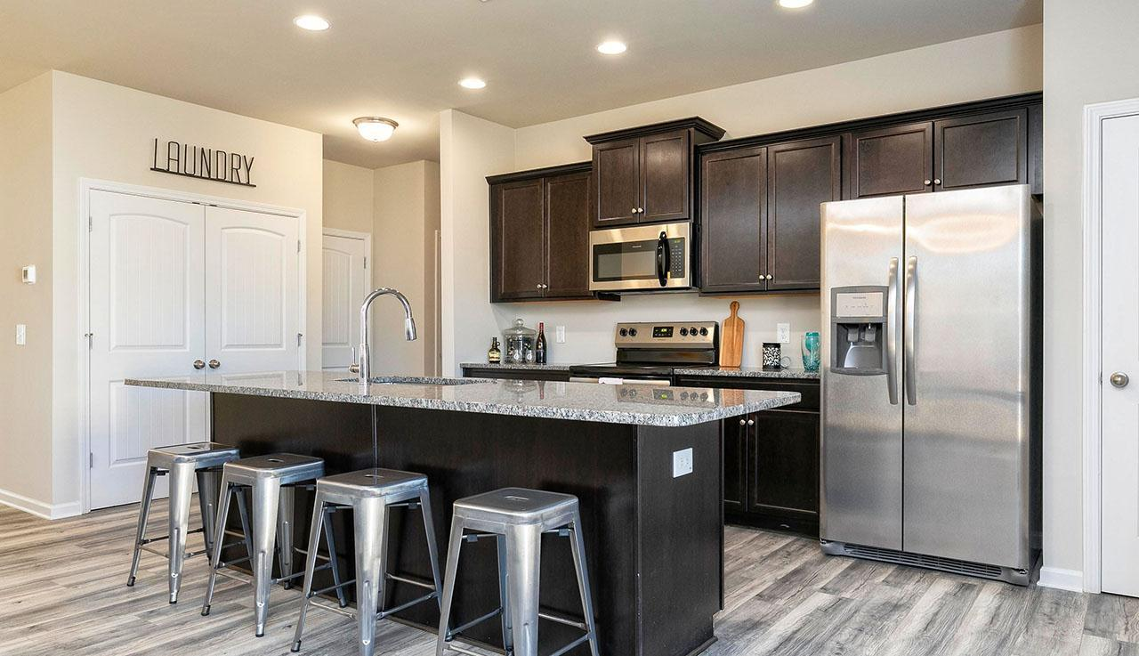 Kitchen featured in The Phoenix By Smith Douglas Homes in Charlotte, NC