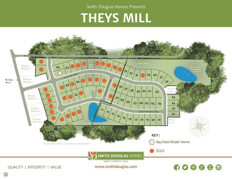 Only a Few Homesites Remain in Phase 1!