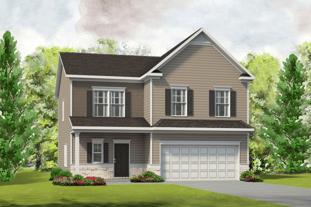 Exterior featured in The McPherson By Smith Douglas Homes in Charlotte, NC