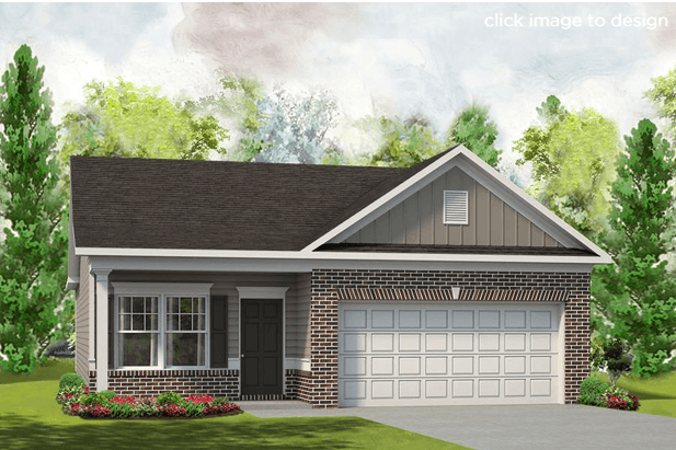 Exterior featured in The Piedmont By Smith Douglas Homes in Anniston, AL