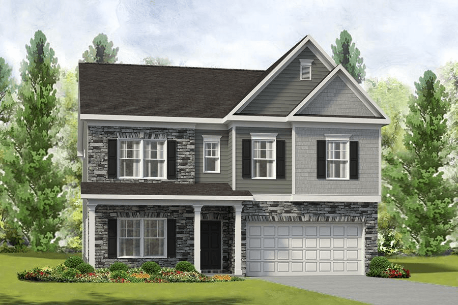 Exterior featured in The Madison By Smith Douglas Homes in Charlotte, NC