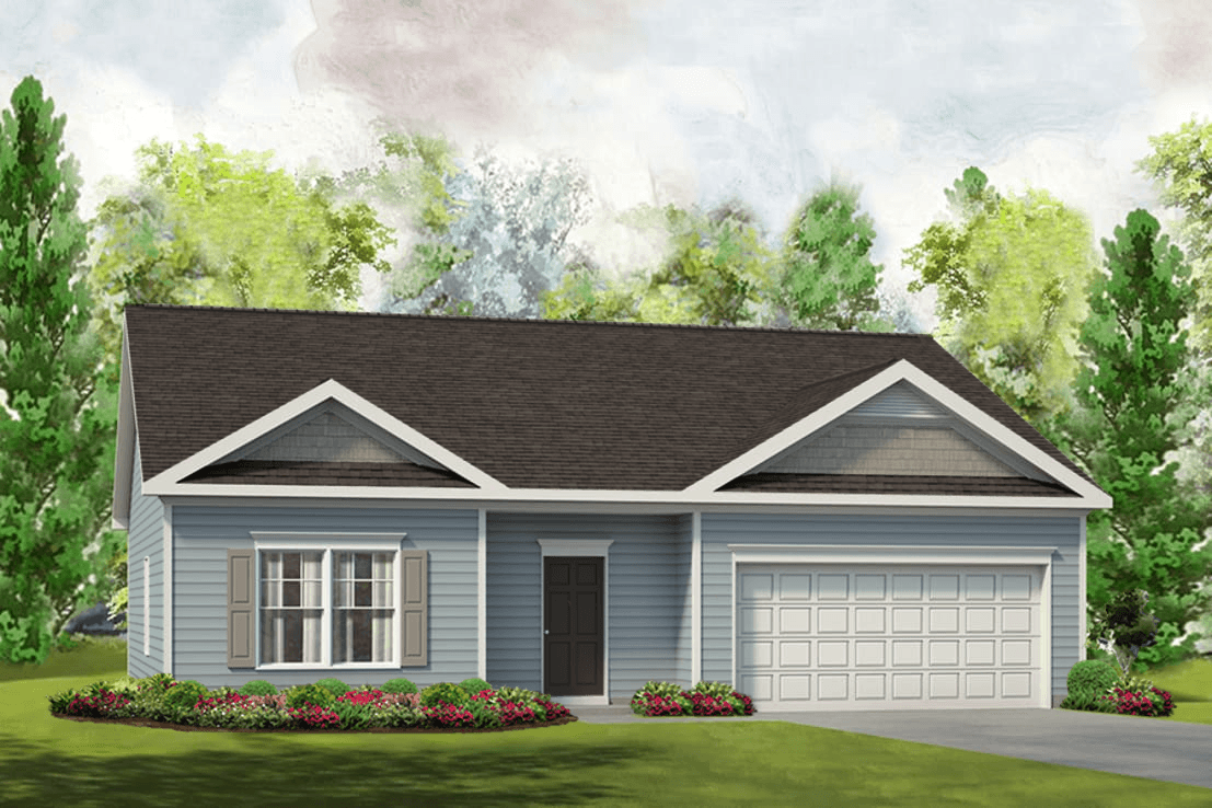 Exterior featured in The Phoenix By Smith Douglas Homes in Charlotte, NC