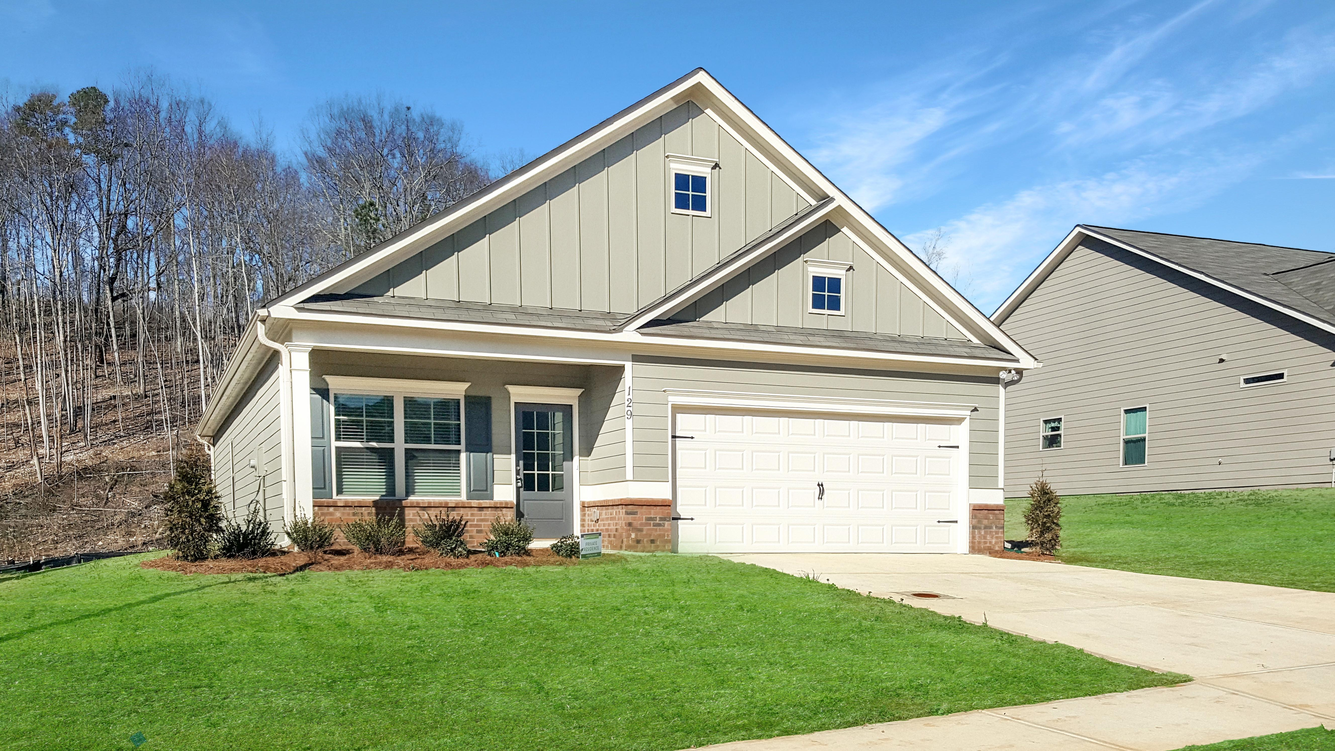 Exterior featured in The Piedmont By Smith Douglas Homes in Nashville, TN