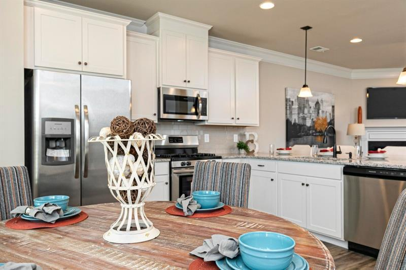 Kitchen featured in The Maddux By Smith Douglas Homes in Atlanta, GA