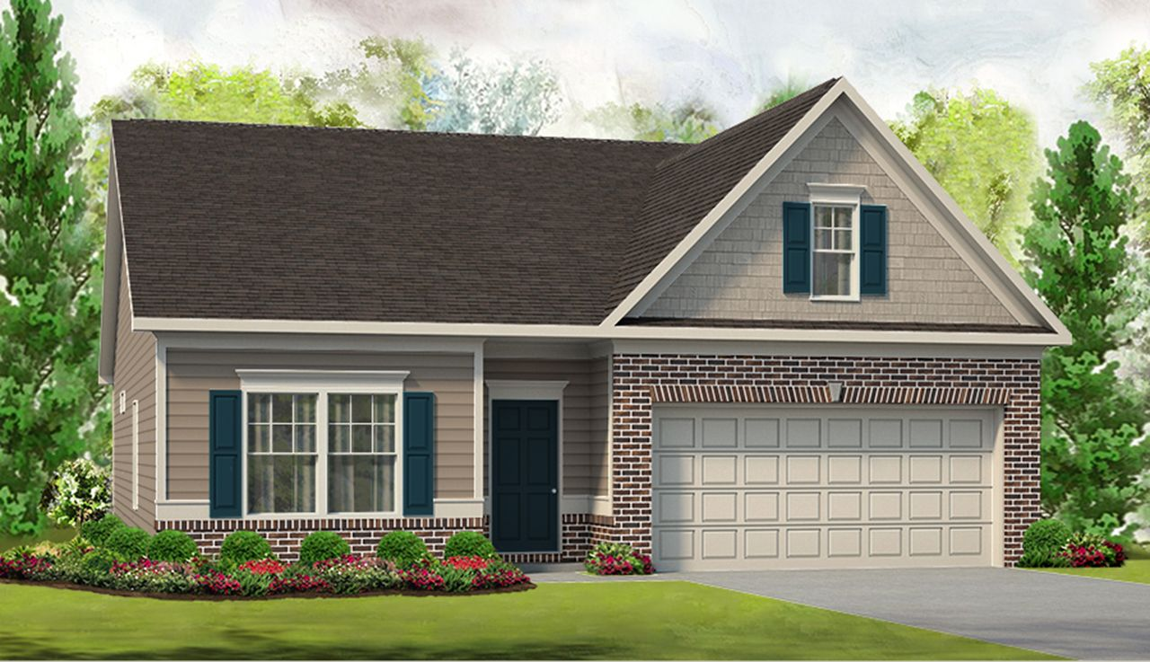 Exterior featured in The Campbell By Smith Douglas Homes in Huntsville, AL