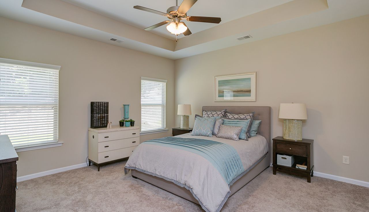 Bedroom featured in The Campbell By Smith Douglas Homes in Huntsville, AL