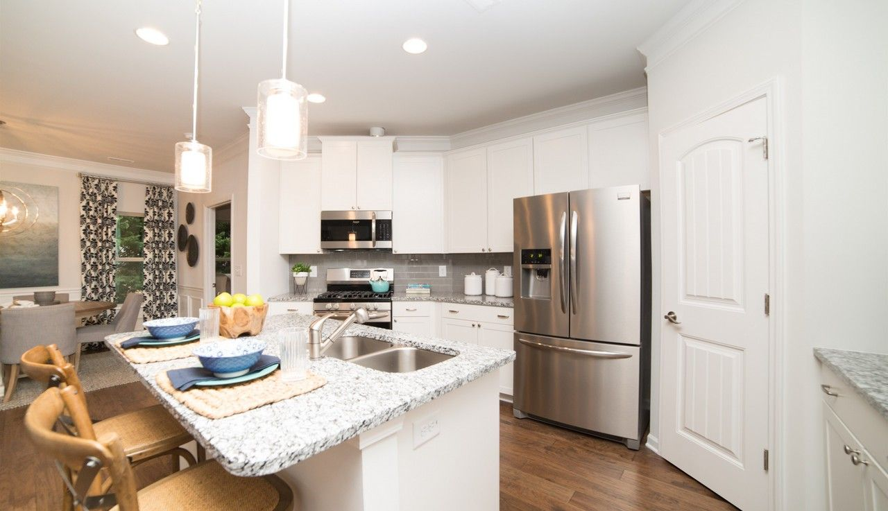 Kitchen featured in The Lanier By Smith Douglas Homes in Huntsville, AL