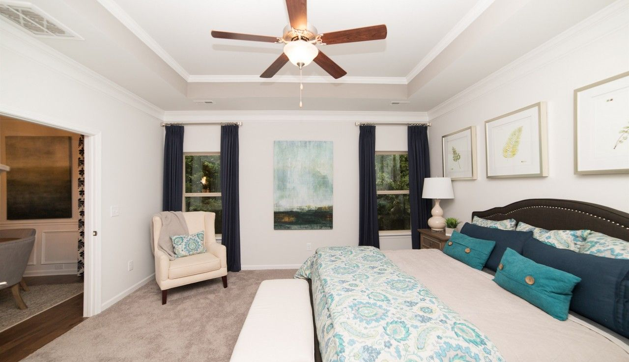 Bedroom featured in The Lanier By Smith Douglas Homes in Huntsville, AL