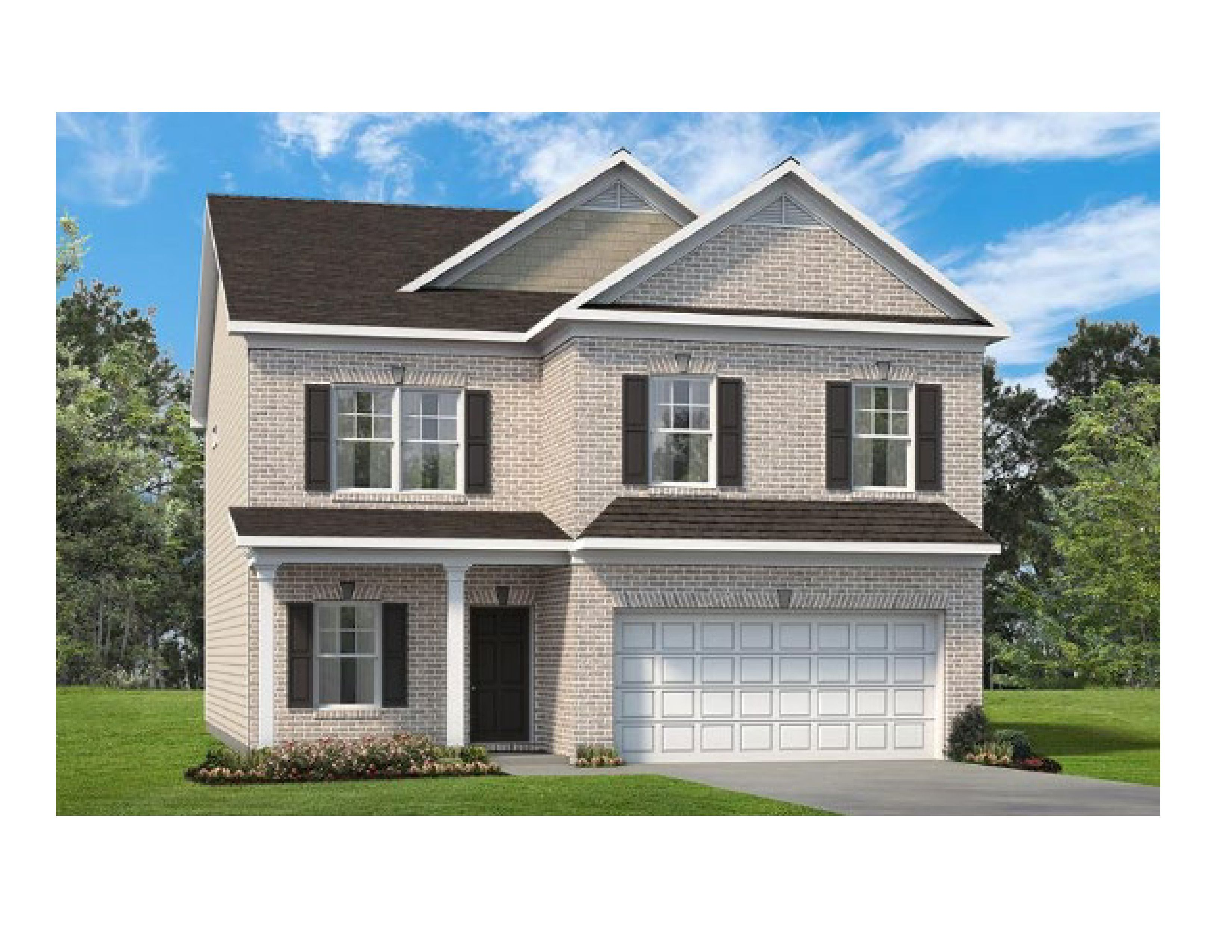 Exterior featured in The Buffington By Smith Douglas Homes in Huntsville, AL