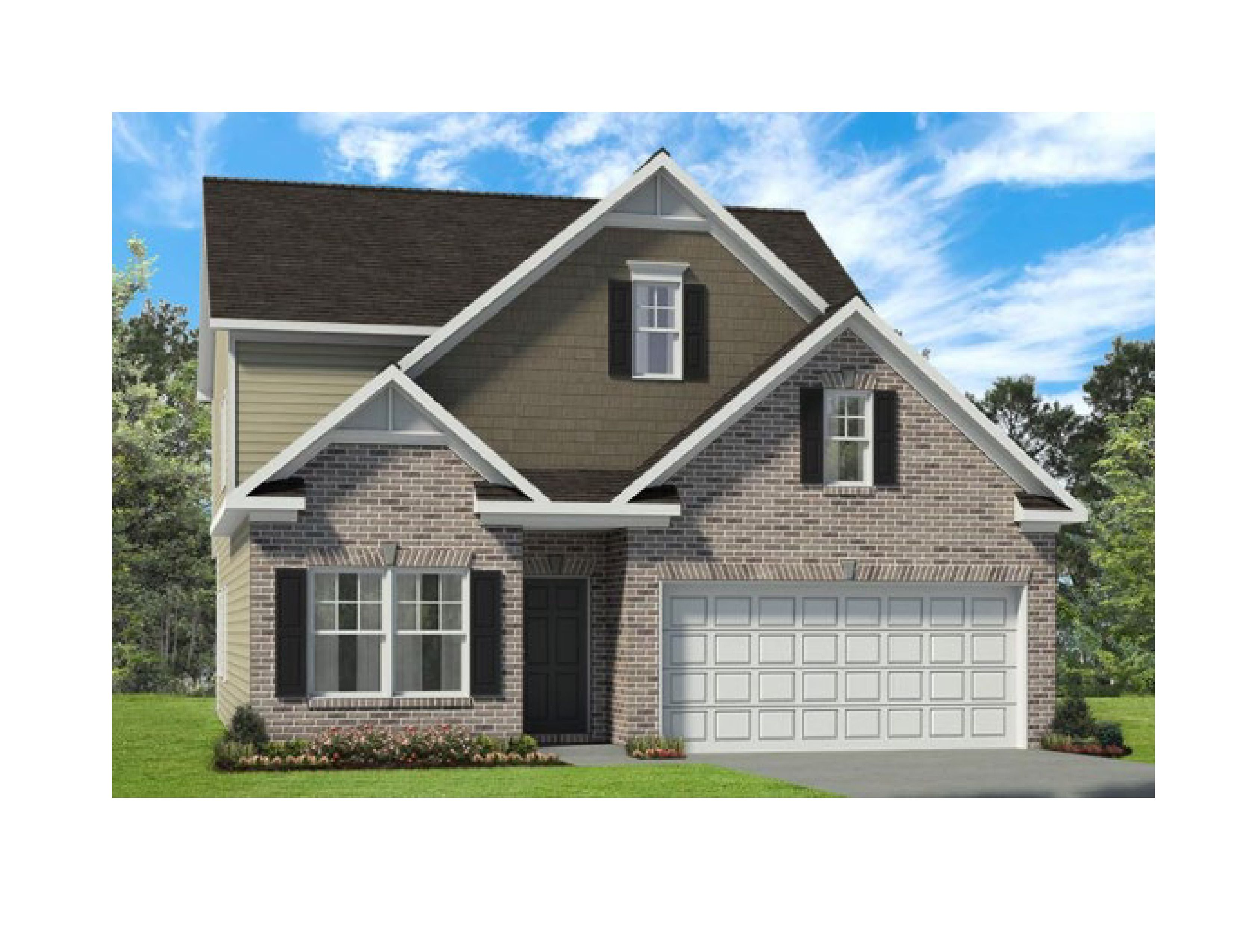 Exterior featured in The Carlyle By Smith Douglas Homes in Huntsville, AL