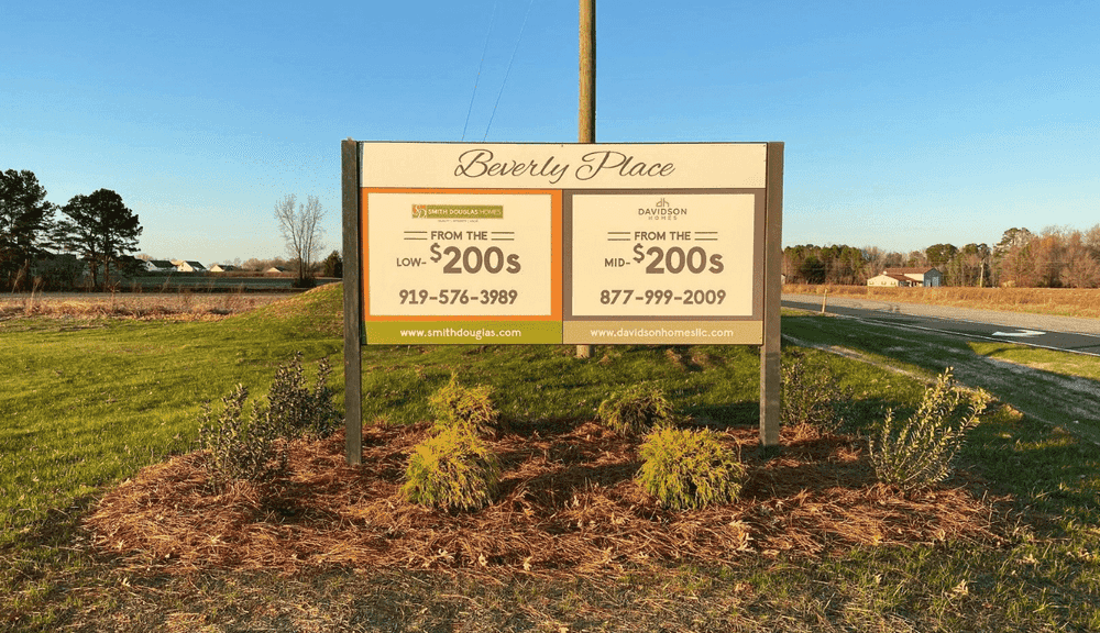 Community Entrance Sign – Visit us Today!