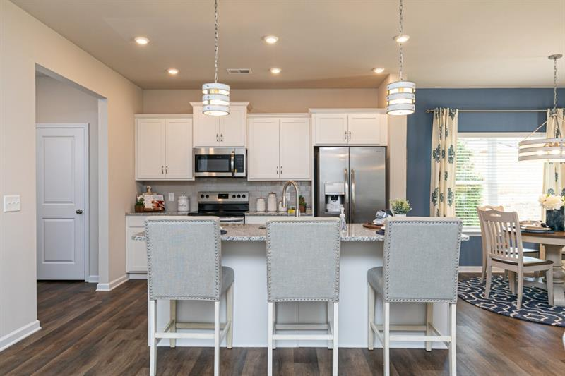 Kitchen featured in The Oxford J By Smith Douglas Homes in Atlanta, GA