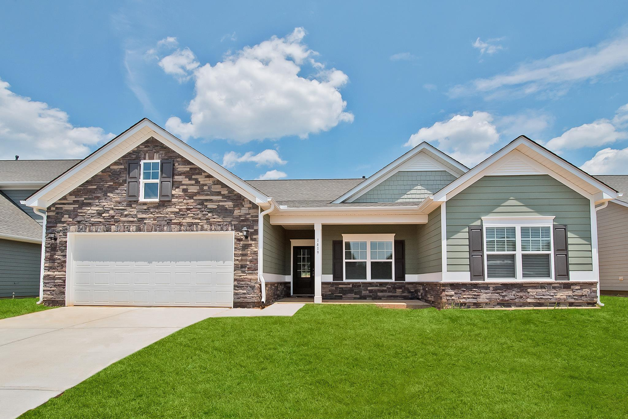 Exterior featured in The Lancaster By Smith Douglas Homes in Nashville, TN