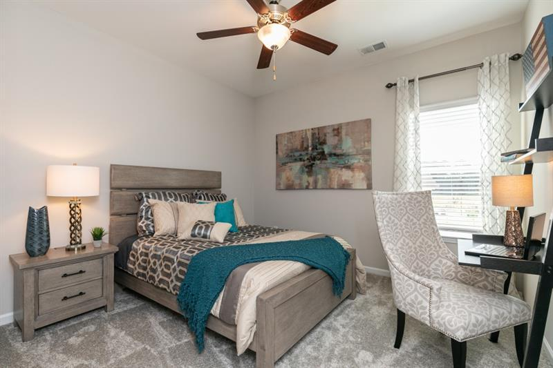 Bedroom featured in The Oxford N By Smith Douglas Homes in Atlanta, GA