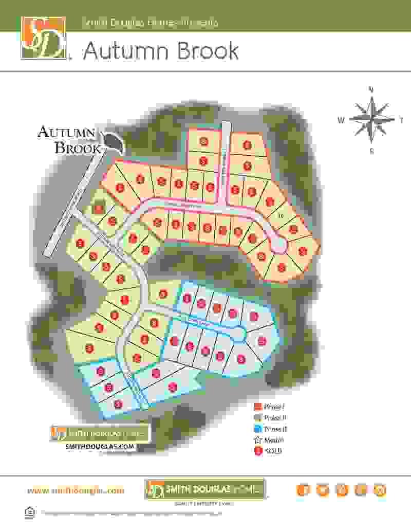 Autumn Brook Sitemap