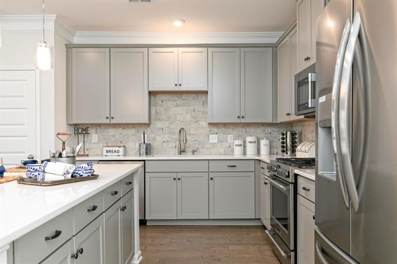 Kitchen featured in The Ellison By Smith Douglas Homes in Atlanta, GA