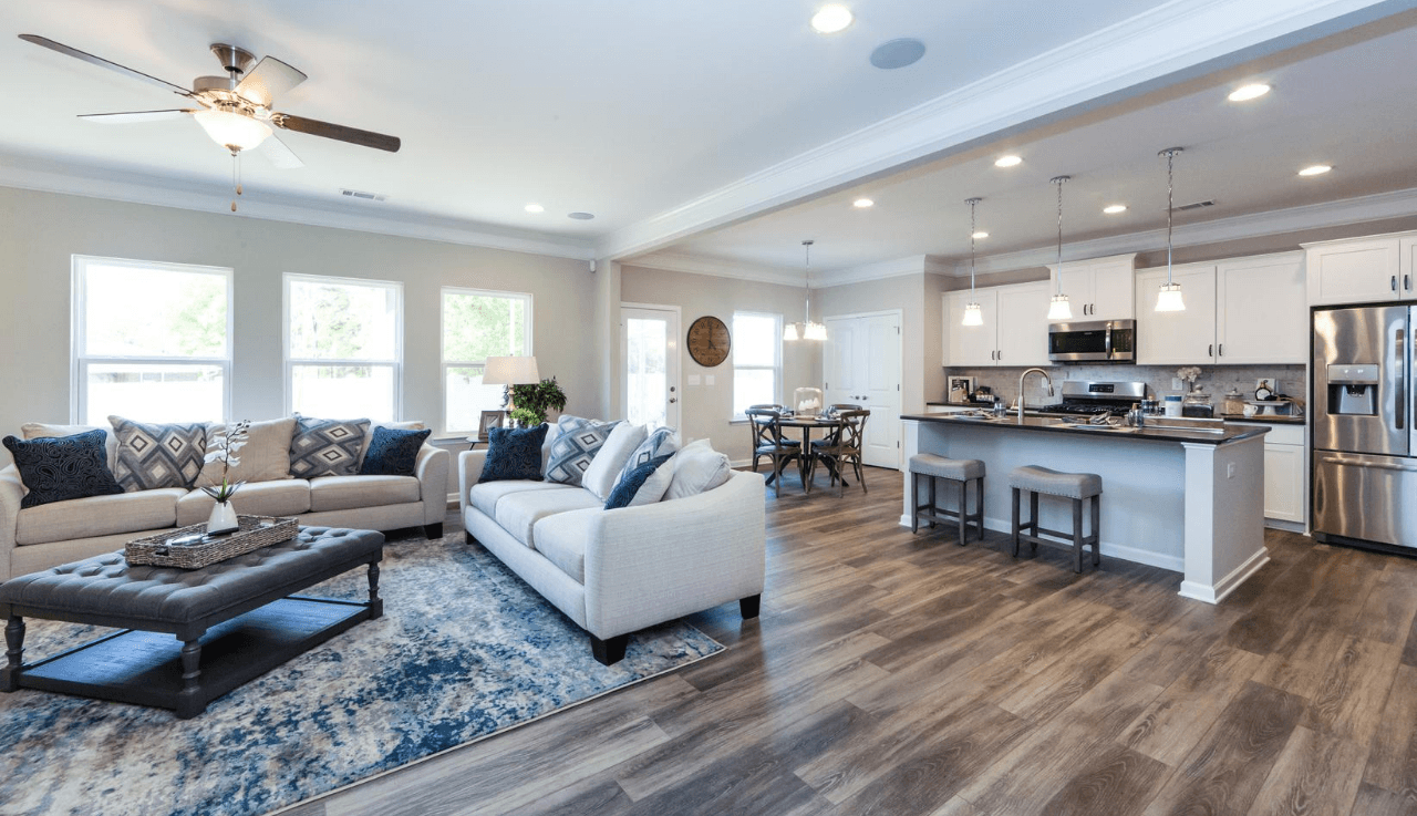 Living Area featured in The Buffington By Smith Douglas Homes in Raleigh-Durham-Chapel Hill, NC