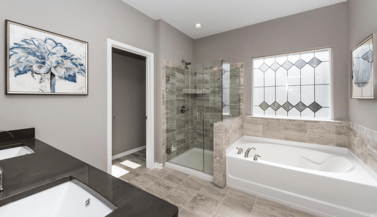 Bathroom featured in The Buffington By Smith Douglas Homes in Raleigh-Durham-Chapel Hill, NC