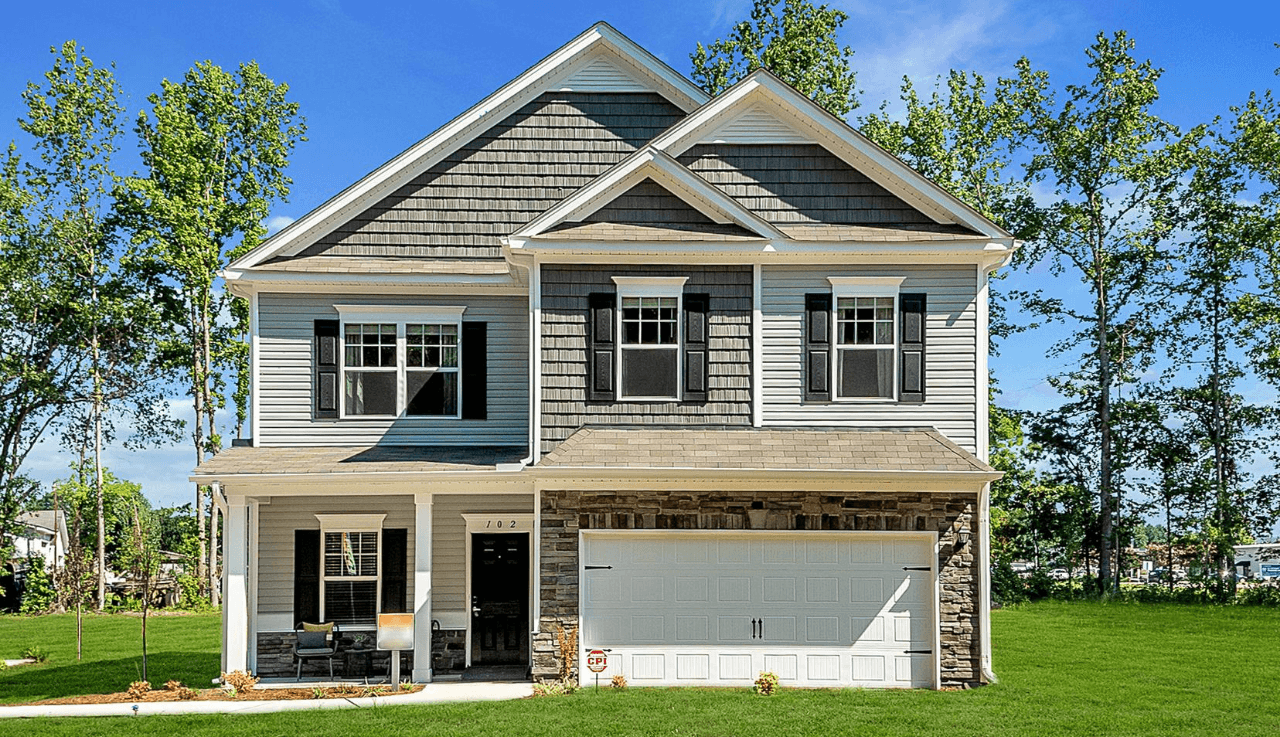 Exterior featured in The Buffington By Smith Douglas Homes in Raleigh-Durham-Chapel Hill, NC