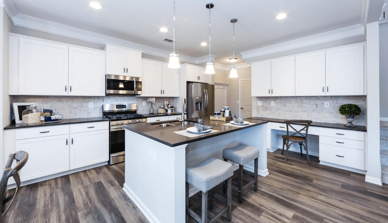 Kitchen featured in The Buffington By Smith Douglas Homes in Raleigh-Durham-Chapel Hill, NC