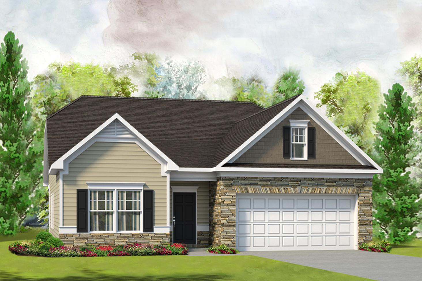 Exterior featured in The Lanier By Smith Douglas Homes in Nashville, TN