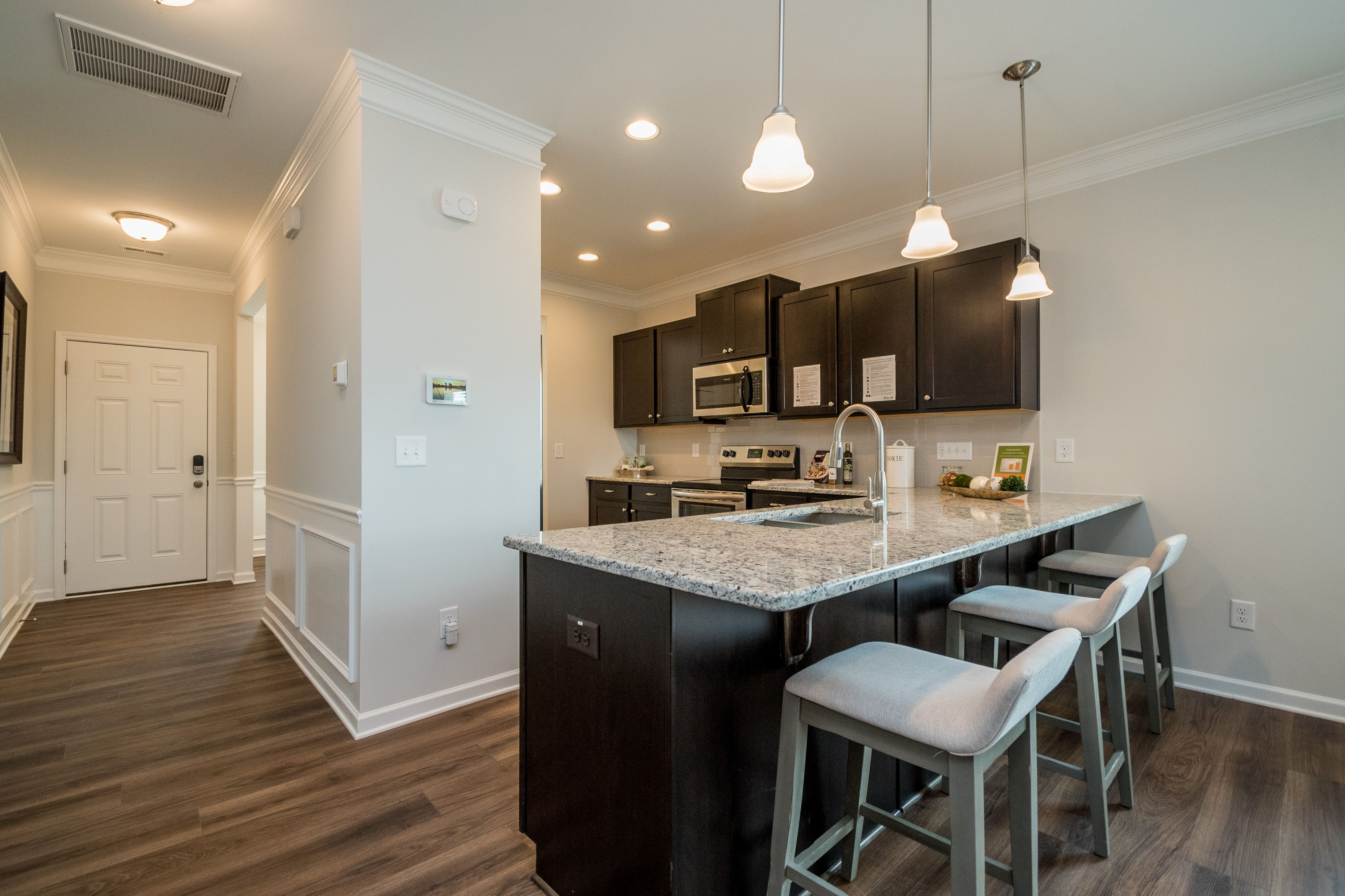 Kitchen featured in The Carlyle By Smith Douglas Homes in Raleigh-Durham-Chapel Hill, NC