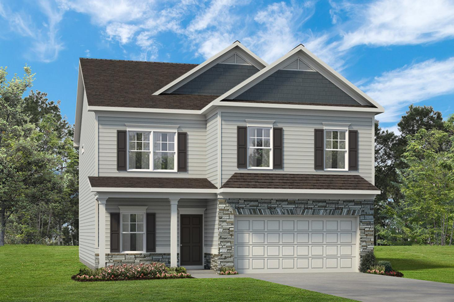 Exterior featured in The Buffington By Smith Douglas Homes in Nashville, TN