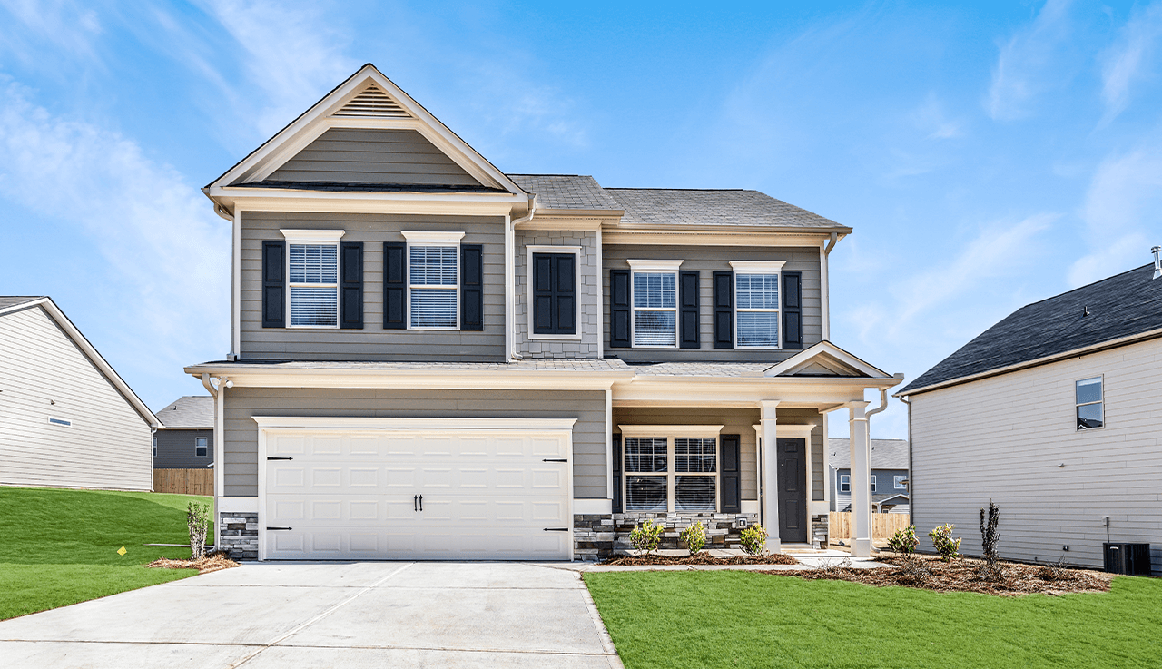Exterior featured in The Cochran By Smith Douglas Homes in Nashville, TN