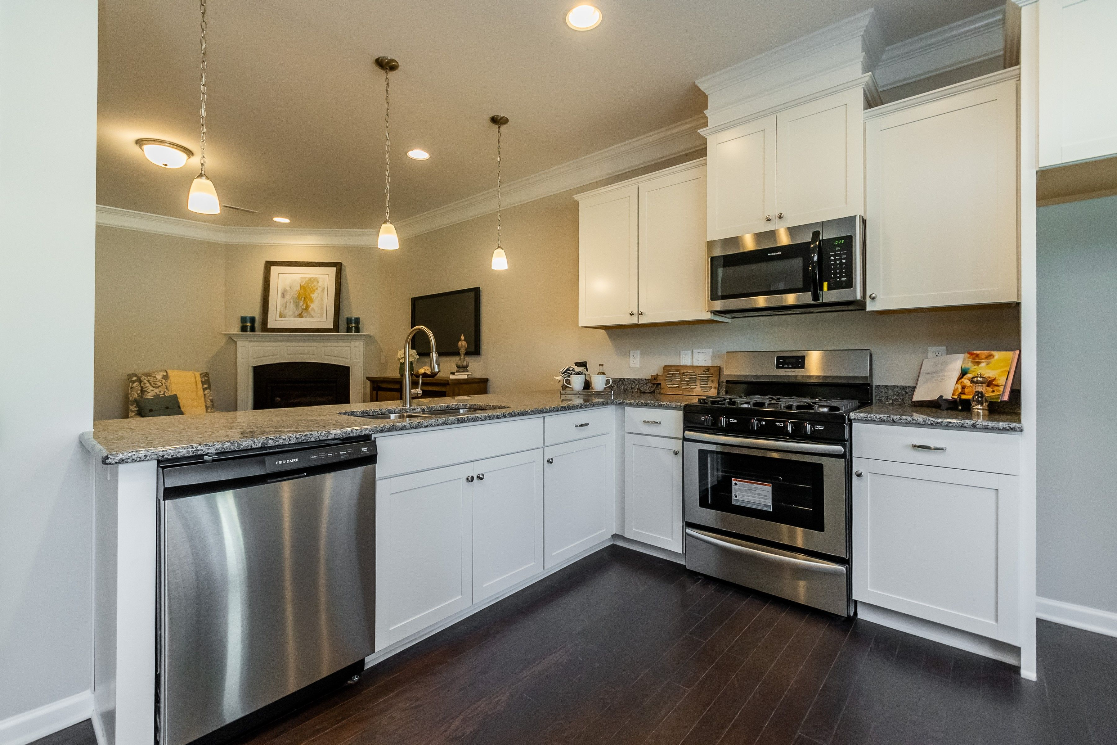 Kitchen featured in The Manchester By Smith Douglas Homes in Raleigh-Durham-Chapel Hill, NC
