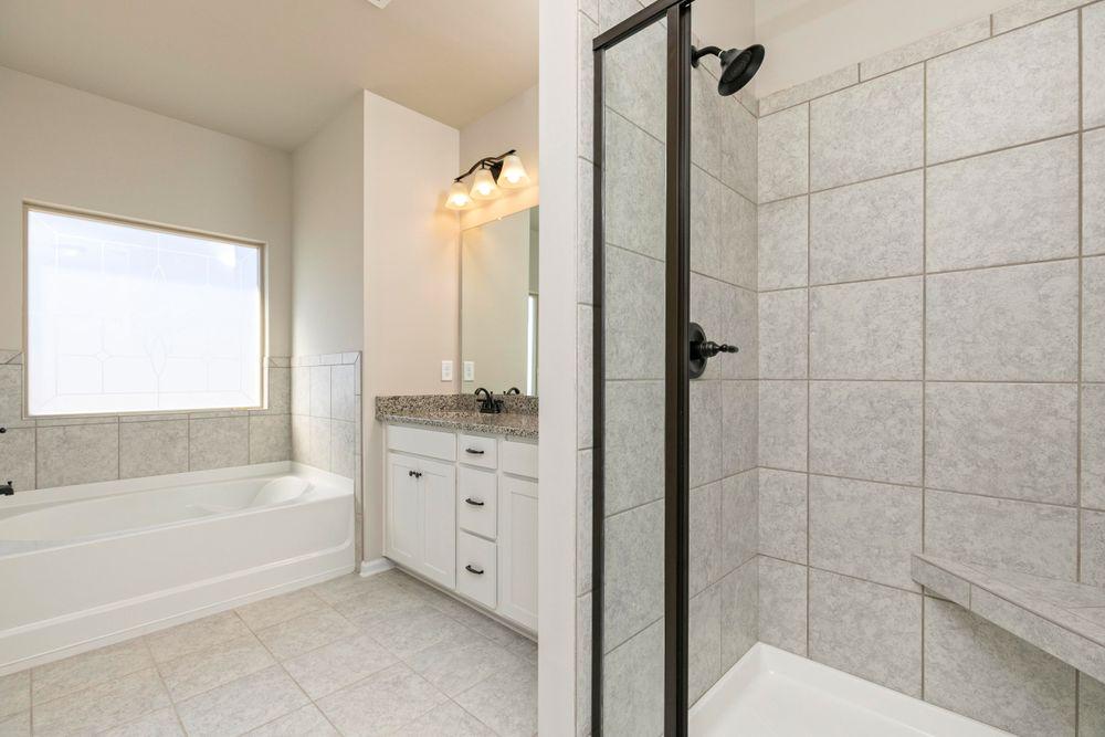 Spa-like Owner's Bath