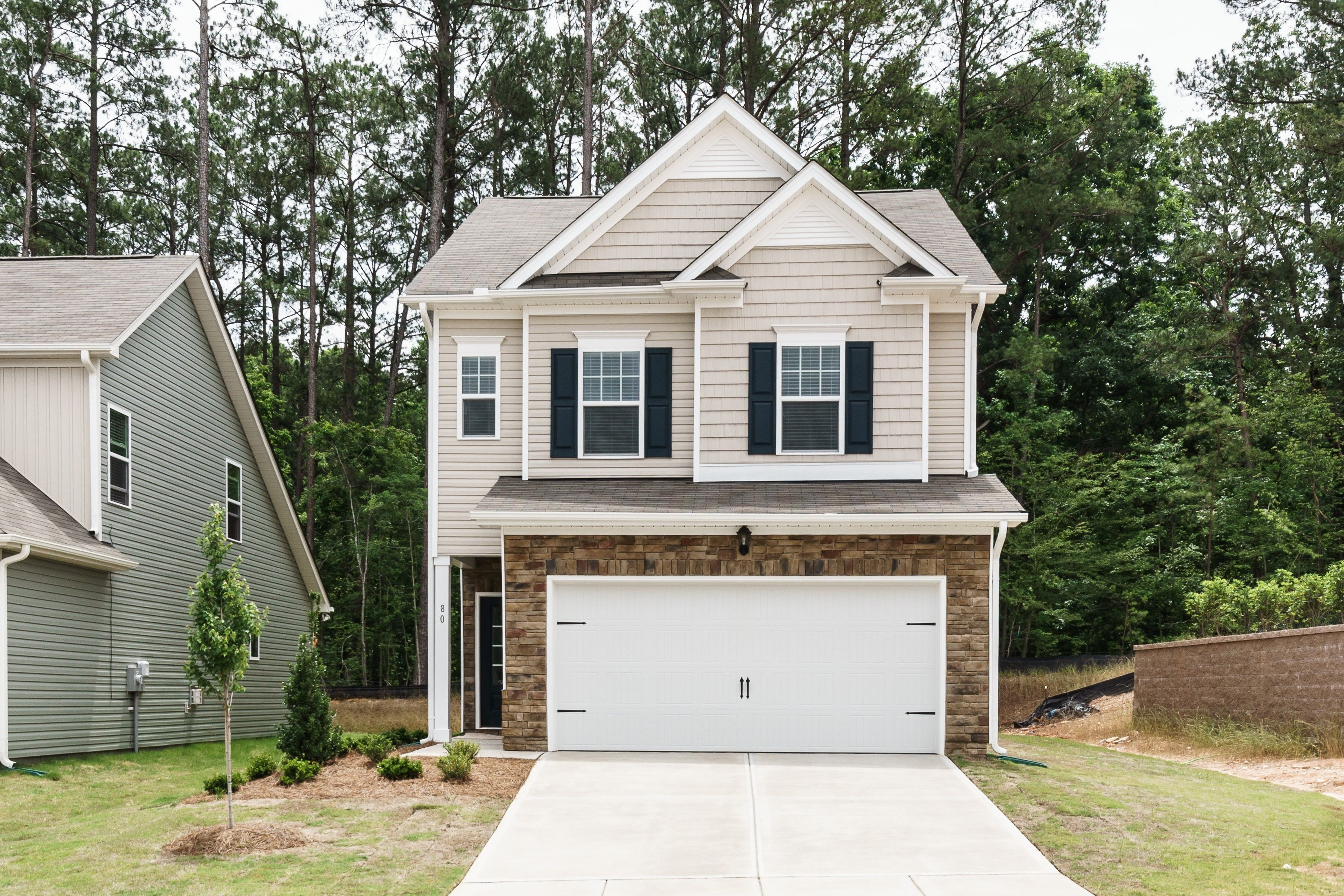 Exterior featured in The Manchester By Smith Douglas Homes in Raleigh-Durham-Chapel Hill, NC