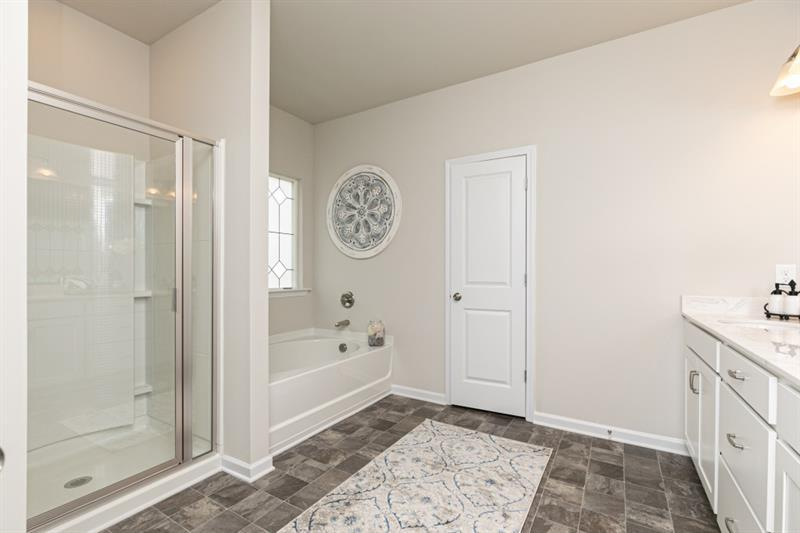 Bathroom featured in The Oxford N By Smith Douglas Homes in Atlanta, GA