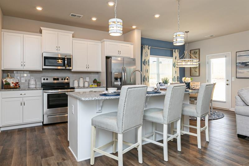 Kitchen featured in The Oxford E By Smith Douglas Homes in Atlanta, GA