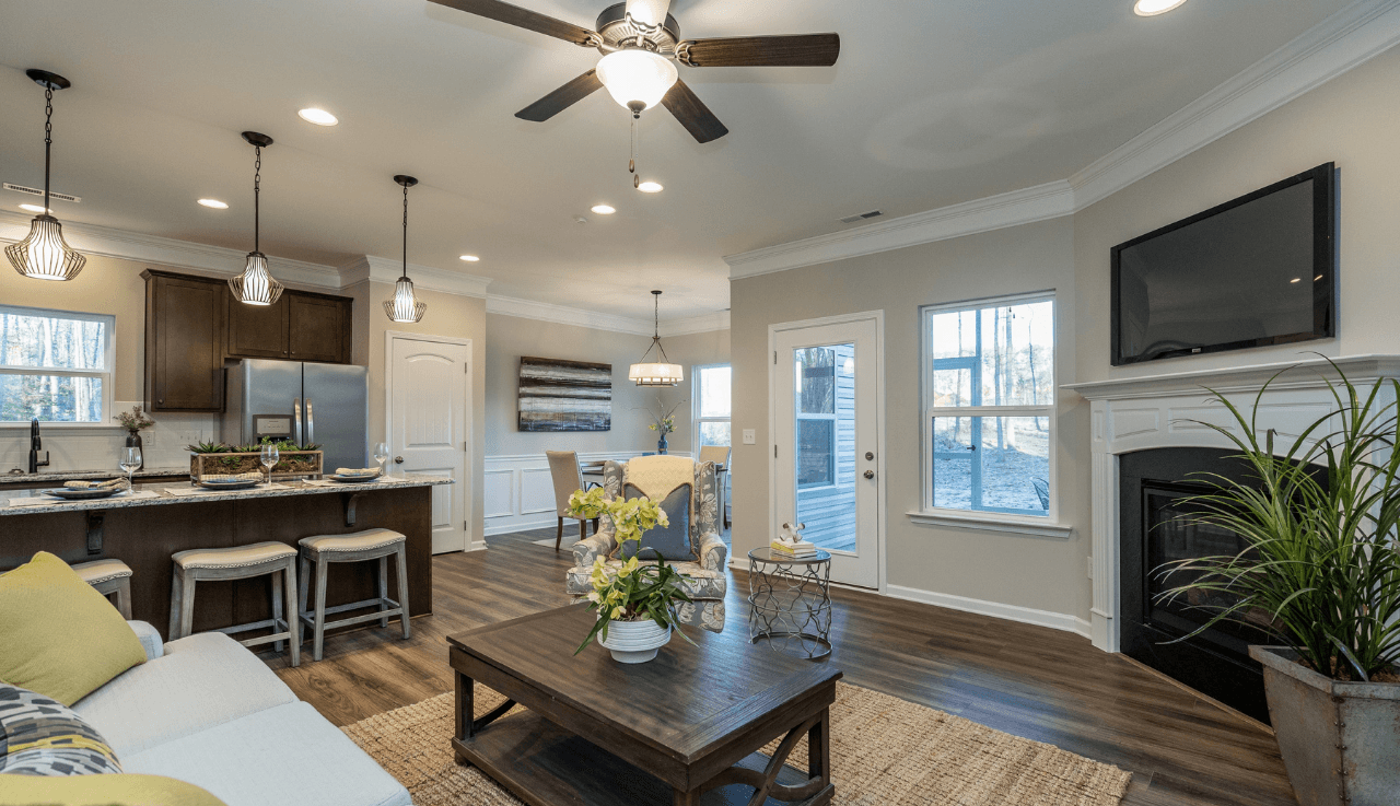 Living Area featured in The Bayfield By Smith Douglas Homes in Goldsboro, NC