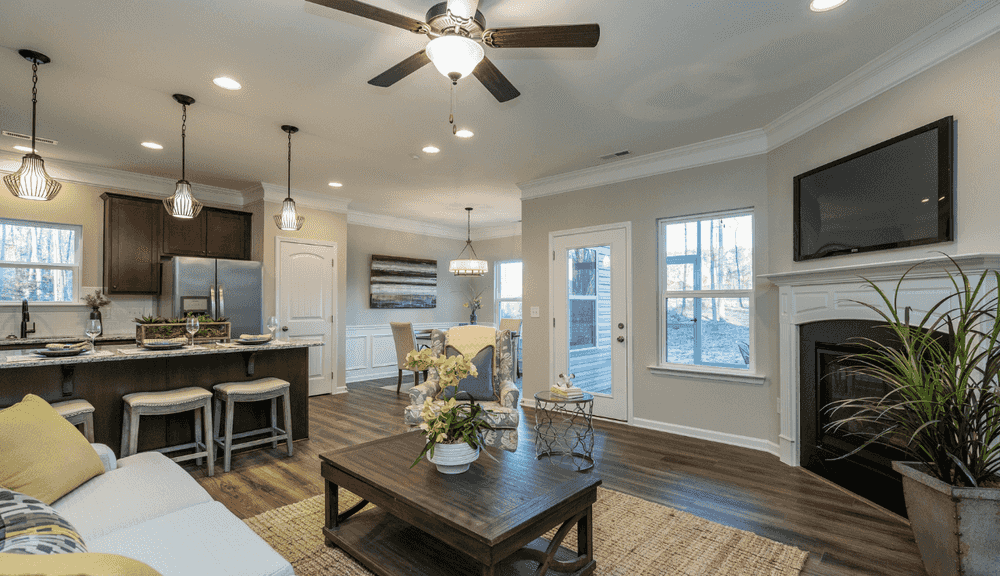 Open-Concept Family Room