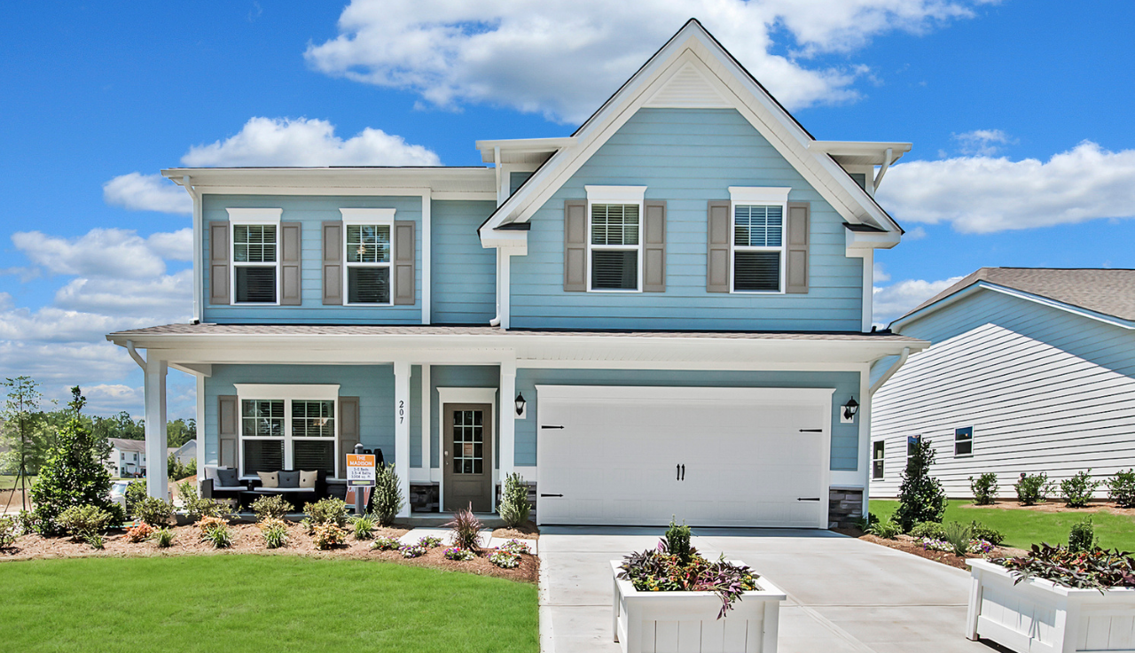 Exterior featured in The Madison By Smith Douglas Homes in Raleigh-Durham-Chapel Hill, NC