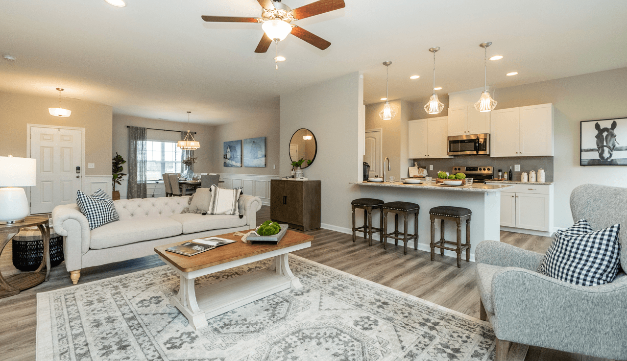 Living Area featured in The Vinings By Smith Douglas Homes in Goldsboro, NC