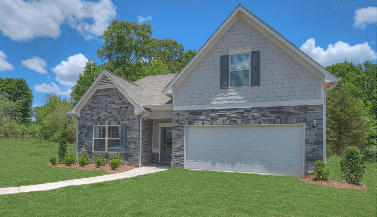 Exterior featured in The Lanier By Smith Douglas Homes in Raleigh-Durham-Chapel Hill, NC