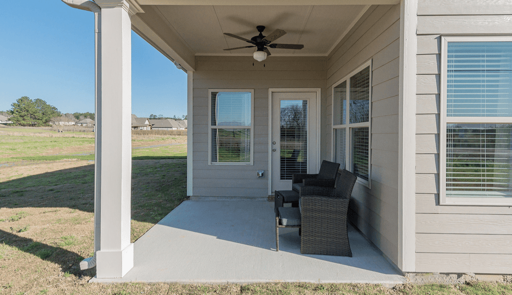 Included Covered Porch