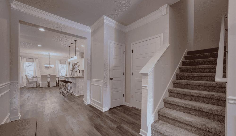 Foyer with Bonus Room