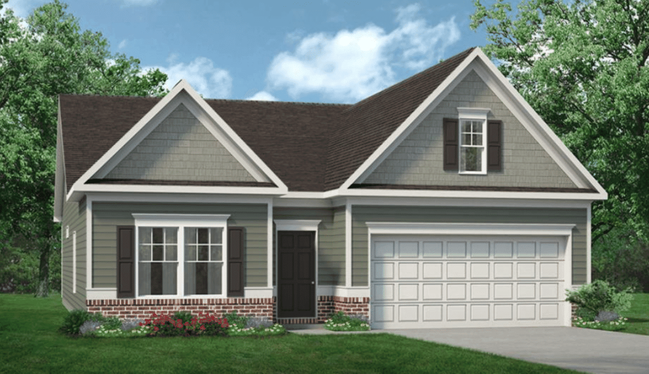 Exterior featured in The Campbell By Smith Douglas Homes in Raleigh-Durham-Chapel Hill, NC