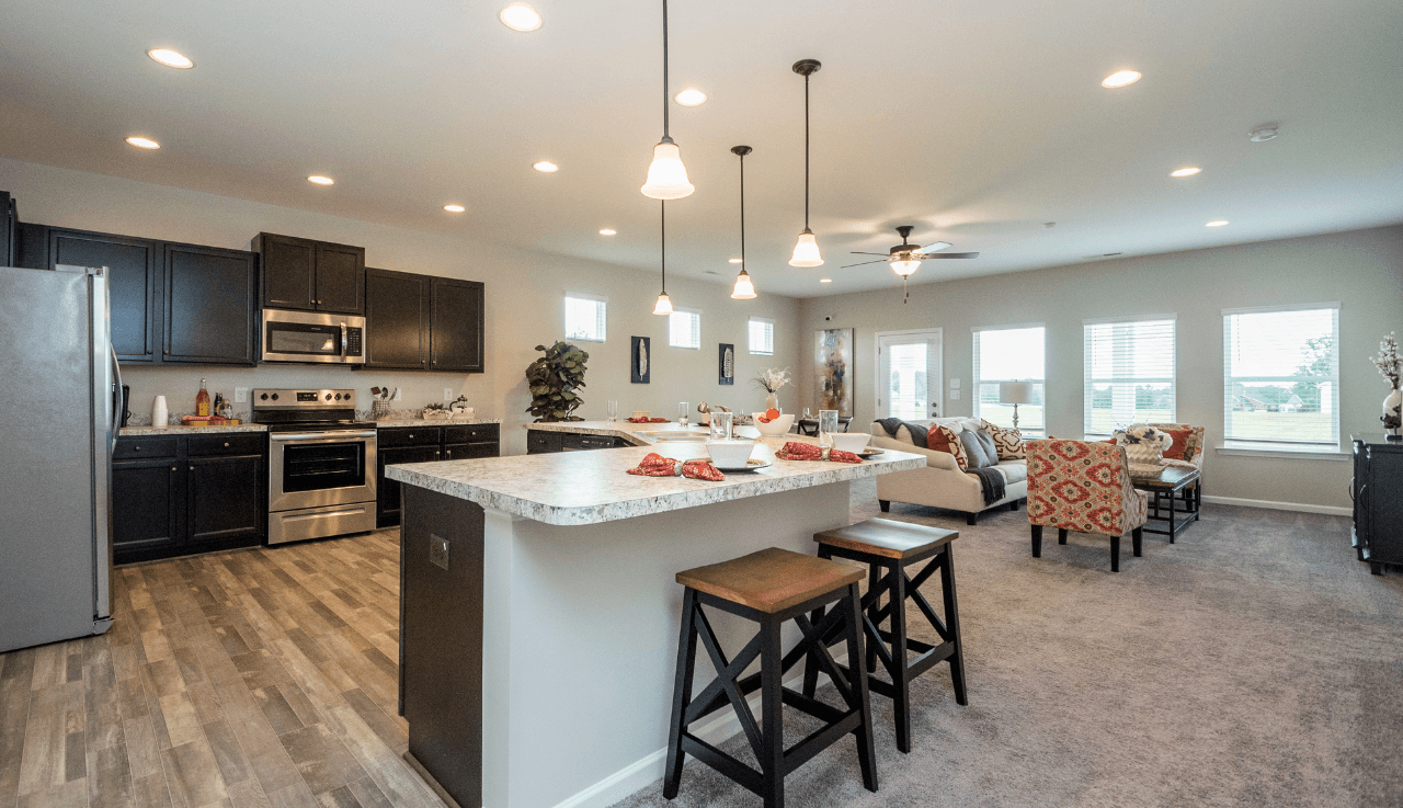Kitchen featured in The Campbell By Smith Douglas Homes in Raleigh-Durham-Chapel Hill, NC