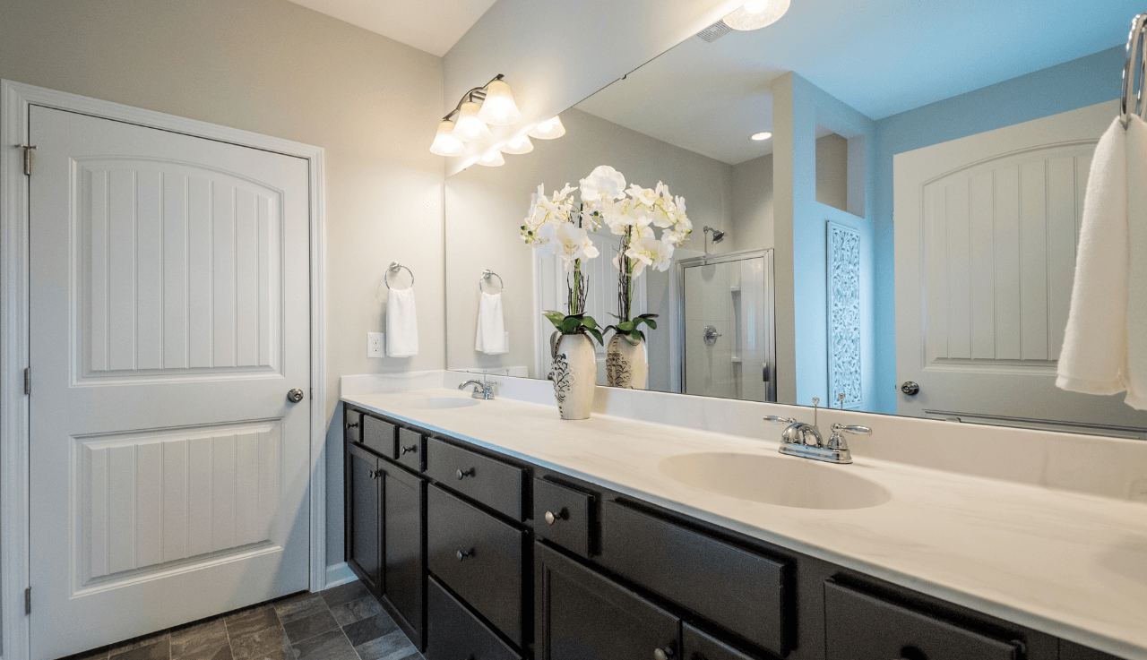 Bathroom featured in The Campbell By Smith Douglas Homes in Raleigh-Durham-Chapel Hill, NC